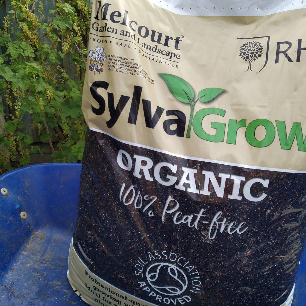 Sylvagrow peat free compost Belper Derbyshire